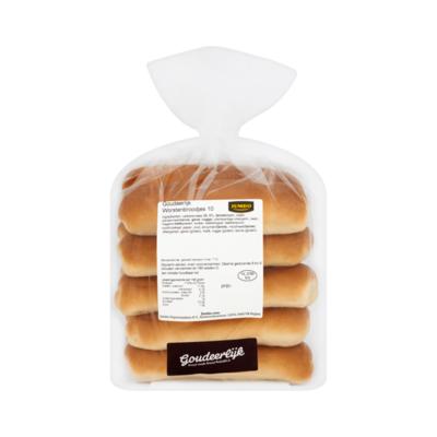 Huismerk Goudeerlijk Worstenbroodjes