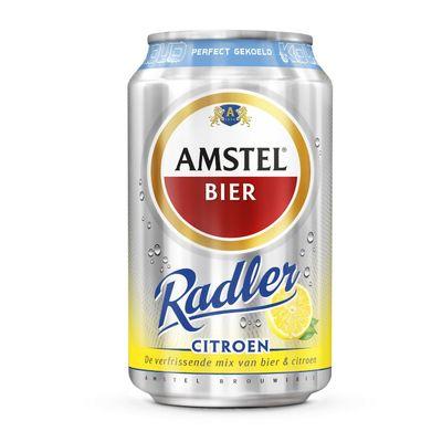 Amstel Radler Citroen Gekoeld Bier Blik