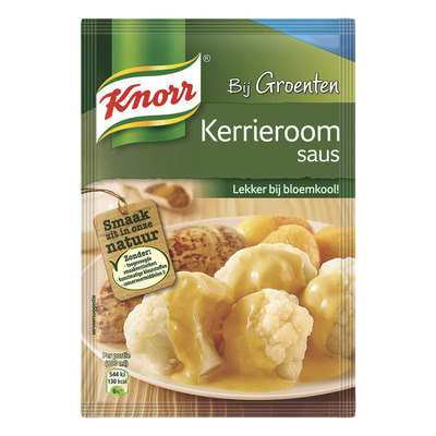 Knorr Mix kerrieroom saus
