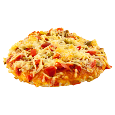 Huismerk Pizza vegetarisch mini