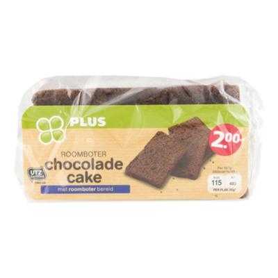 Huismerk Chocolade cake
