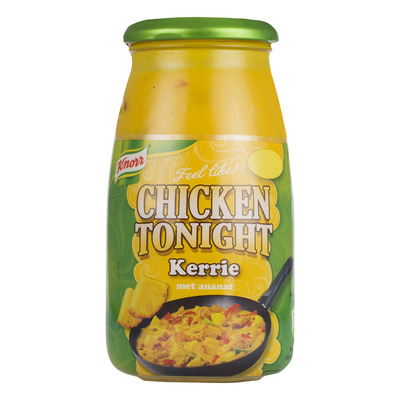 Knorr Chicken tonight roerbaksaus kerrie
