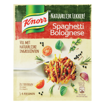 Knorr Maaltijd mix spaghetti bolognese