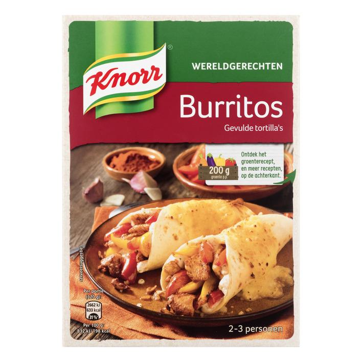 Knorr Wereldgerechten burritos