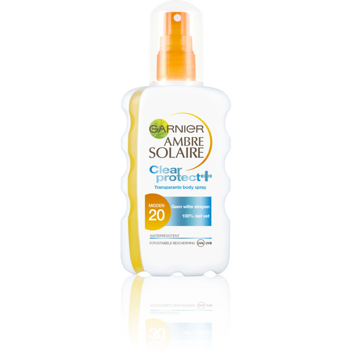 Ambre Solaire Clear protect spray spf 20