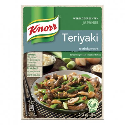 Knorr Wereldgerechten teriyaki