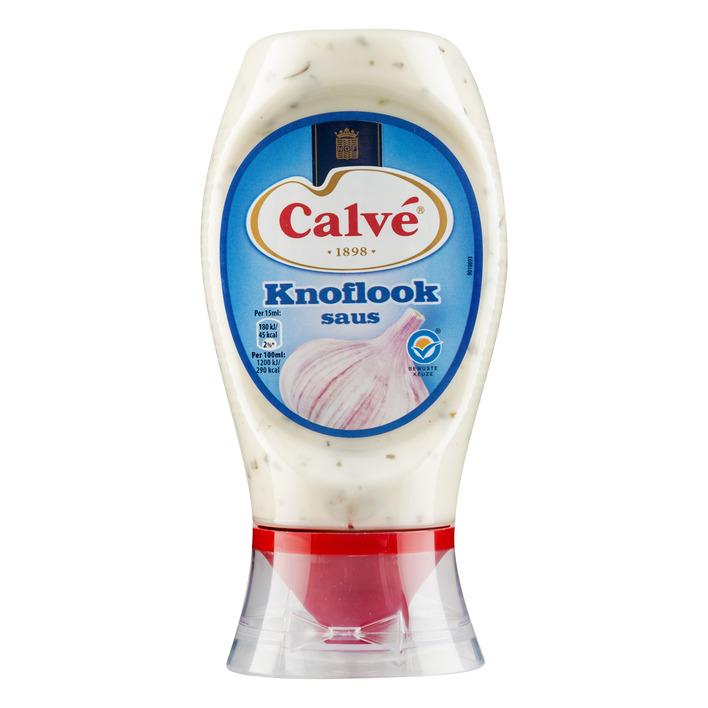 Calvé Saus squeeze knoflook