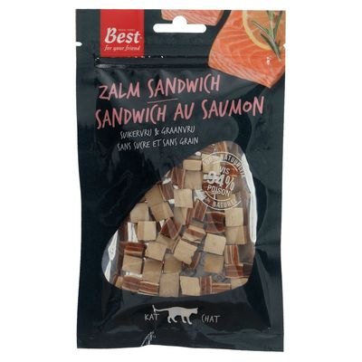 Best For Your Friend Zalm Sandwich