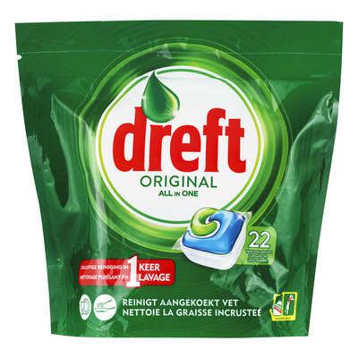Dreft Original vaatwastabletten regular
