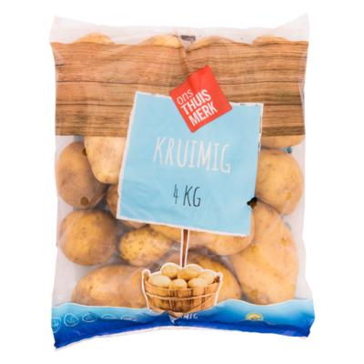 Aardappelen grof kruimig Georgina