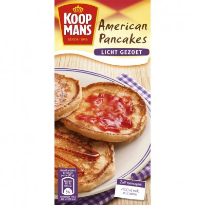 Koopmans Mix voor Amerikaanse pancakes