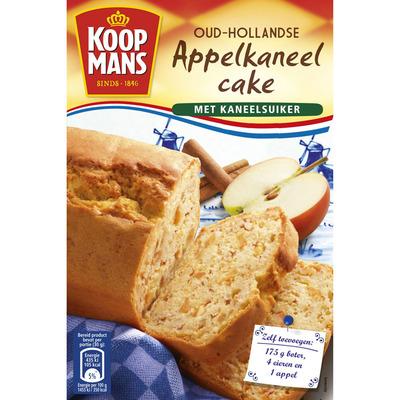 Koopmans Mix voor appel-kaneelcake