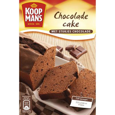 Koopmans Mix voor chocoladecake