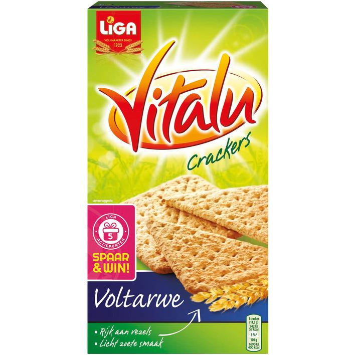 Liga Vitalu crackers voltarwe