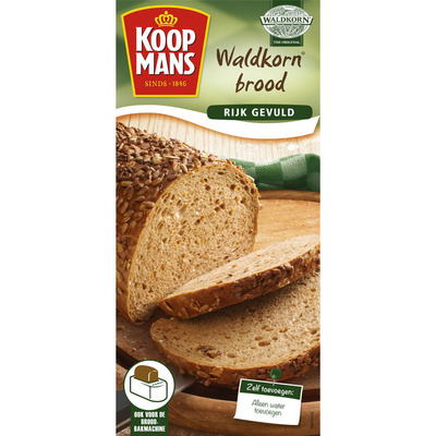 Koopmans Mix voor waldkorn brood