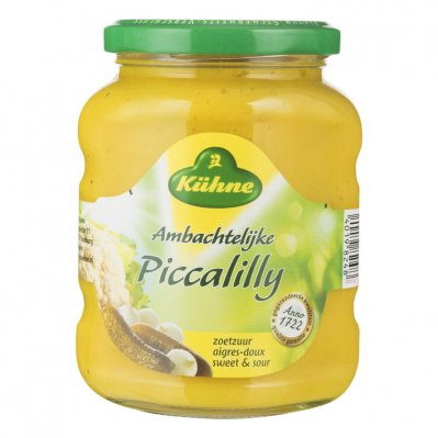 Kuhne Ambachtelijke piccalilly zoetzuur