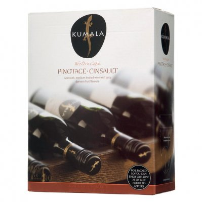 Kumala Pinotage Cinsault bag in box