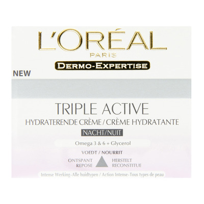 L'Oréal Dermo triple active night
