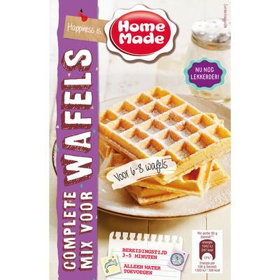 Homemade Complete mix voor wafels