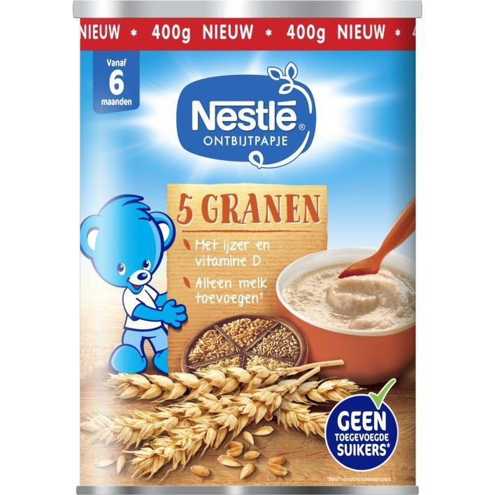 Nestlé Ontbijtpapje 5 Granen