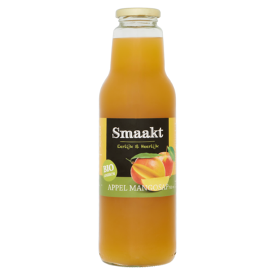 Smaakt Biologisch Appel Mangosap