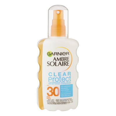 Ambre Solaire Clear protect spray SPF 30