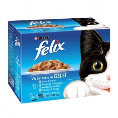 Felix Vis selectie in gelei