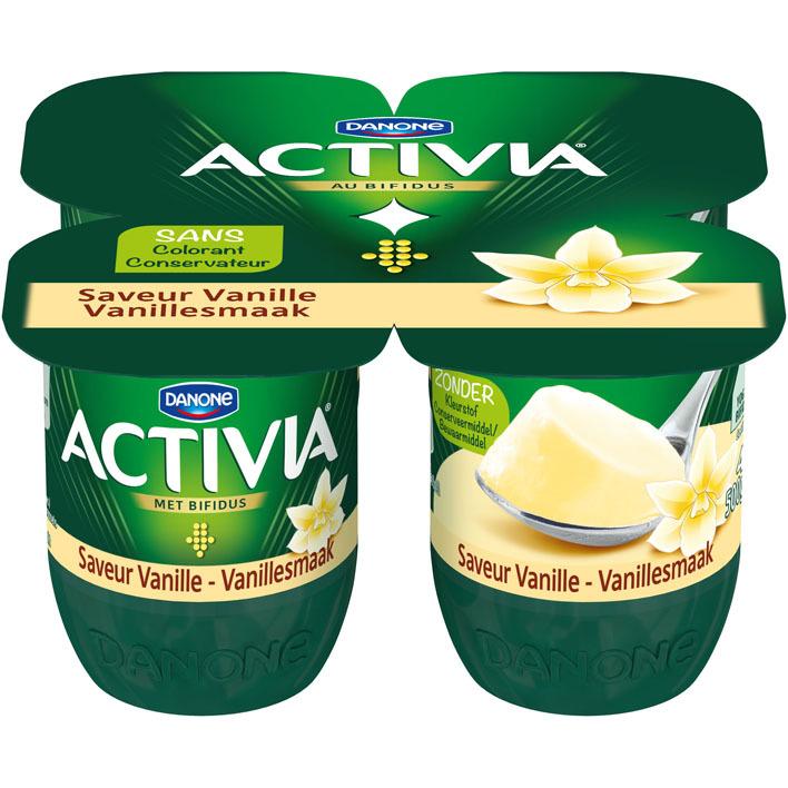 Activia Vanille stand