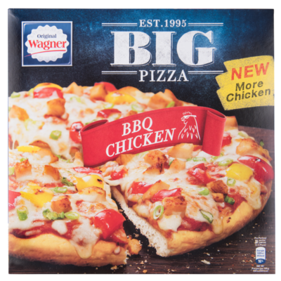 Wagner Big pizza bbq chicken