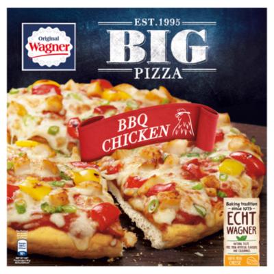 Wagner Big pizza bbq-chicken