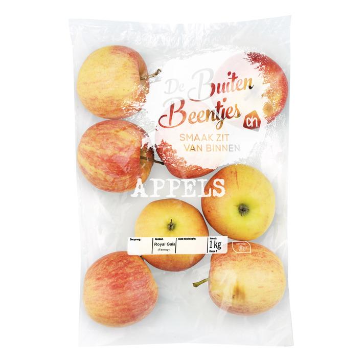 Huismerk Buitenbeentjes appels zak