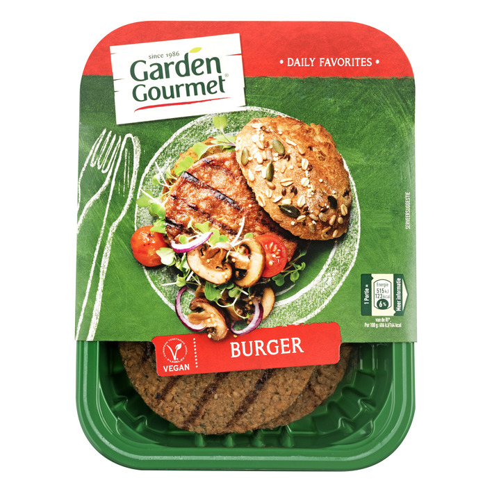 Garden Gourmet Vegetarische burger