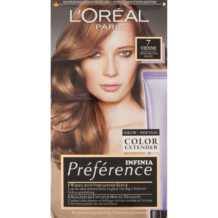 L'Oréal Préférence middenblond 7