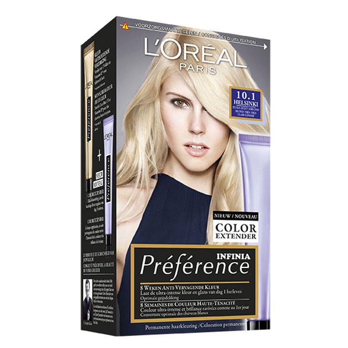 L'Oréal Récital Préférence 10.1 ex licht asblond