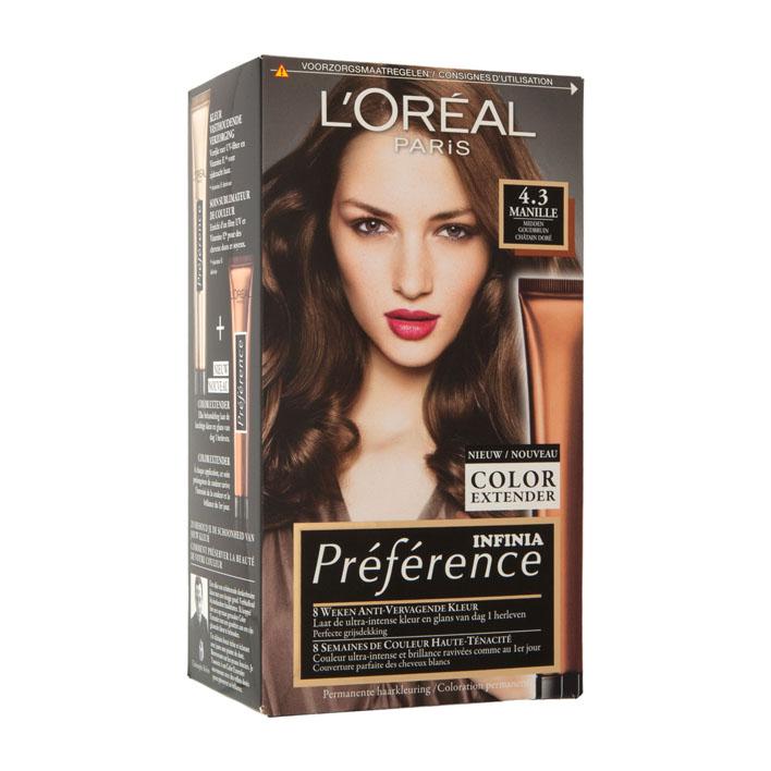 L'Oréal Récital Préférence 4.3 midden goudbruin