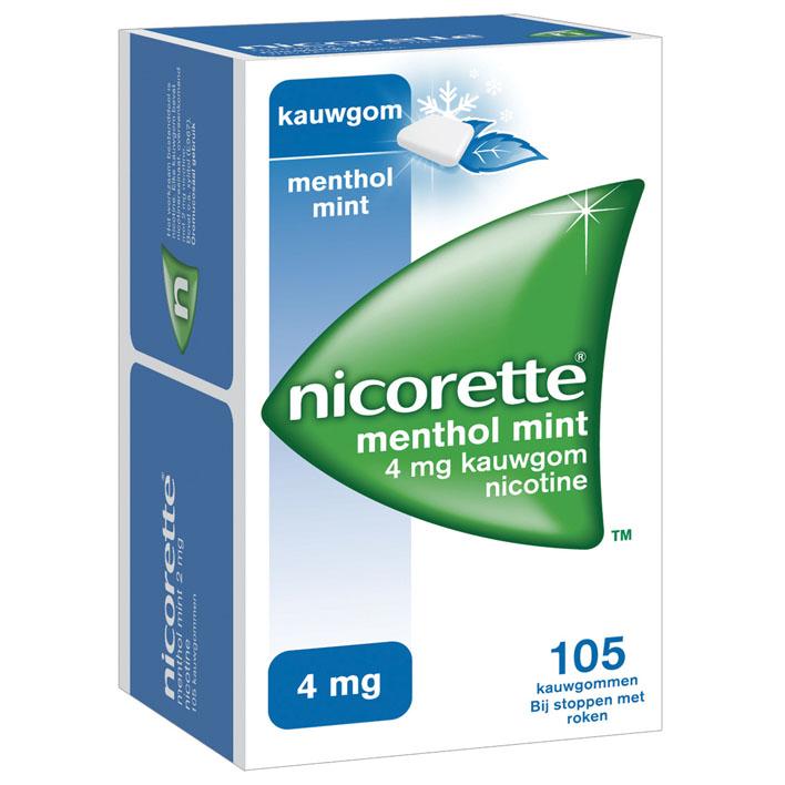 Nicorette Kauwgom mint 4 mg