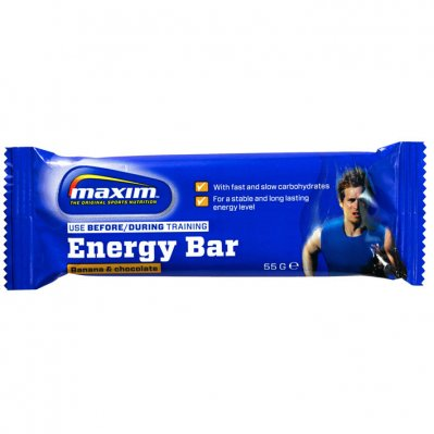 Maxim Banana & chocolate energy bar