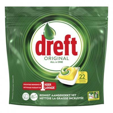 Dreft Original vaatwastabletten citroen
