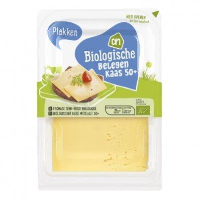 AH Biologisch Belegen kaas 50+ plakken