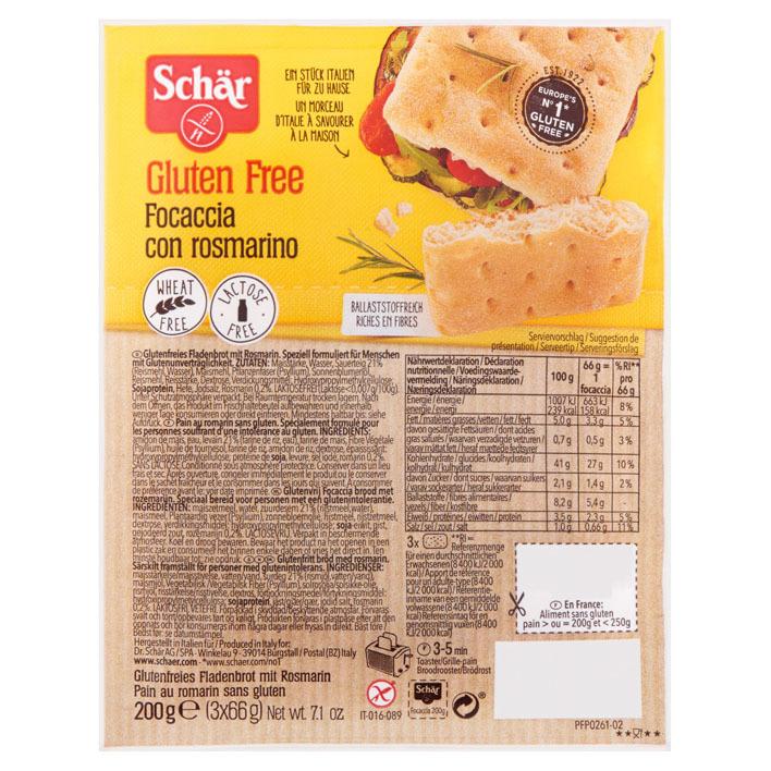 Schär Focaccia glutenvrij