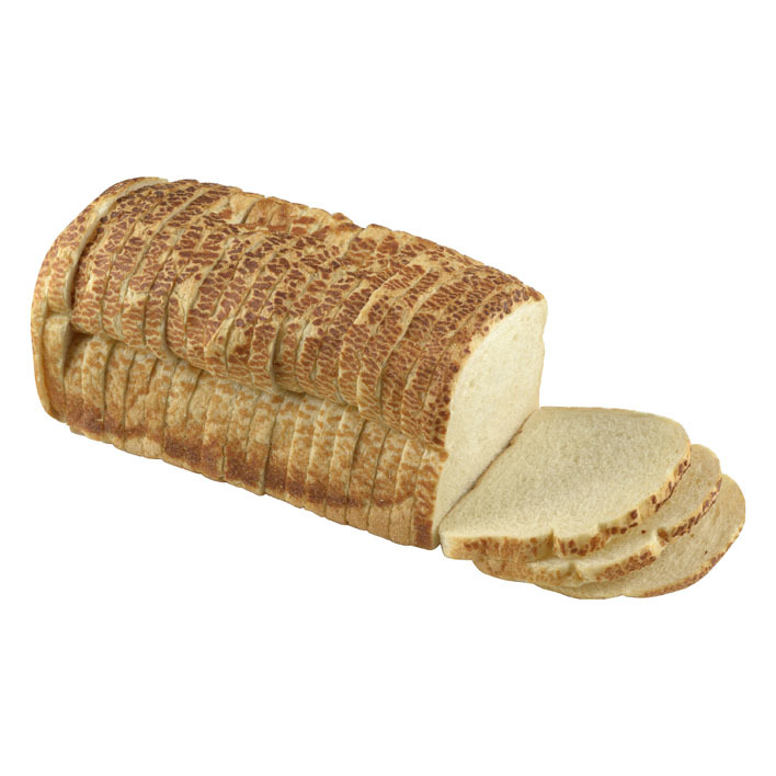 Huismerk Tijgerbrood wit heel (vers ingevroren)