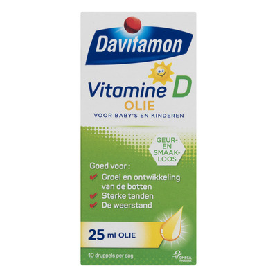 Davitamon Vitamine D olie 0-4 jaar