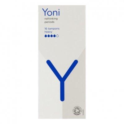 Yoni Tampons van biologisch katoen heavy
