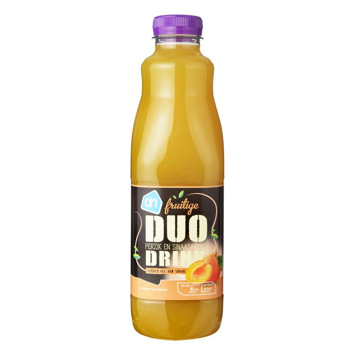 Huismerk Duodrink sinaasappel perzik