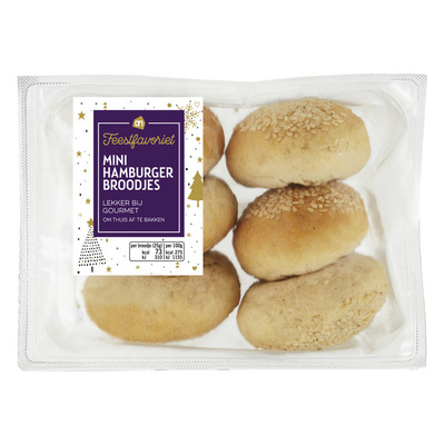 AH Mini hamburger broodjes