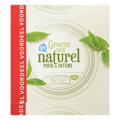 Huismerk Groene thee naturel voordeel