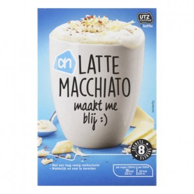 Huismerk Latte macchiato portie pak UTZ