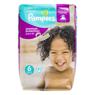 Pampers Active fit luiers maat6 (xl)15+kg