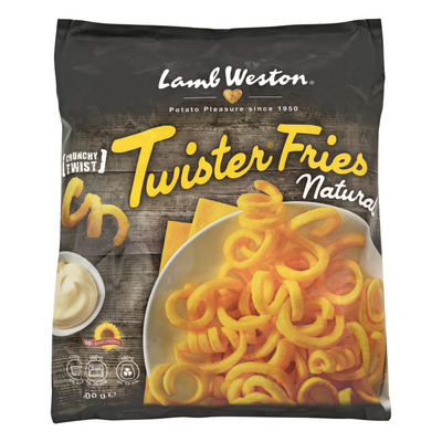 LambWeston Twister fries naturel