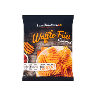 Lamb Weston Waffle Fries Seasoned